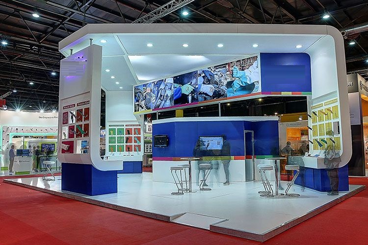 Get the Best Exhibition Booth Designs with Black Mrkt