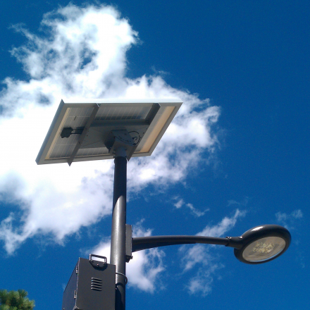 The Green Energy Of Solar Street Light